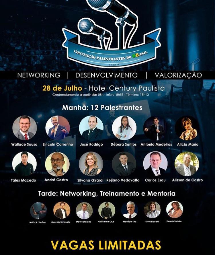 Convenção Palestrantes do Brasil - Events Promoter