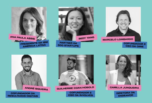 Alguns Palestrantes Confirmados - Startup Summit 2020